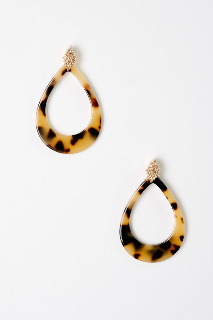 Trend Bejeweled Teardrop Earrings