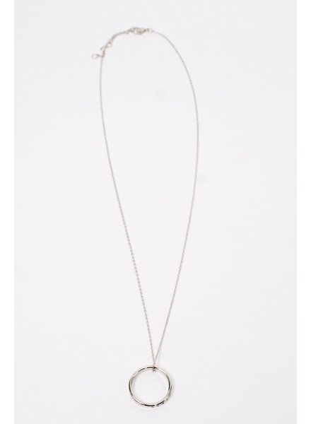 Trend Fearless Mantra Charm Necklace