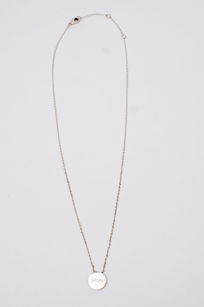 Trend Hope Charm Necklace