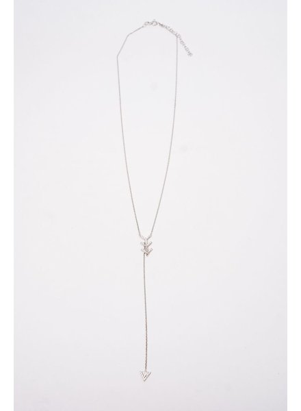 Sterling Sterling Arrow Necklace