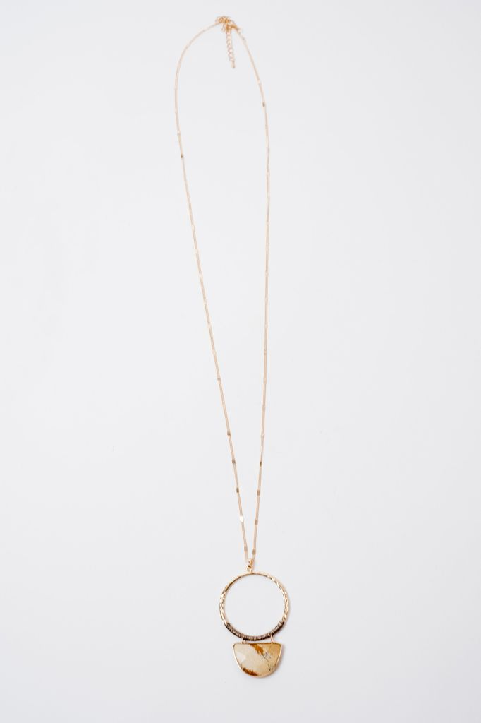 Long Open O Trend Necklace