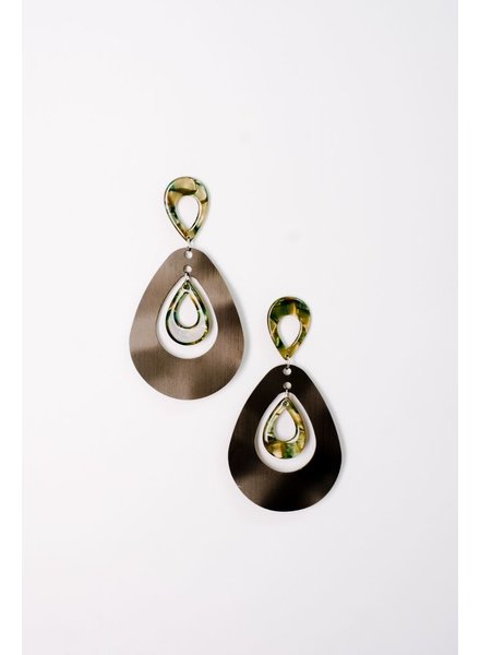 Trend Metal Drop Earrings