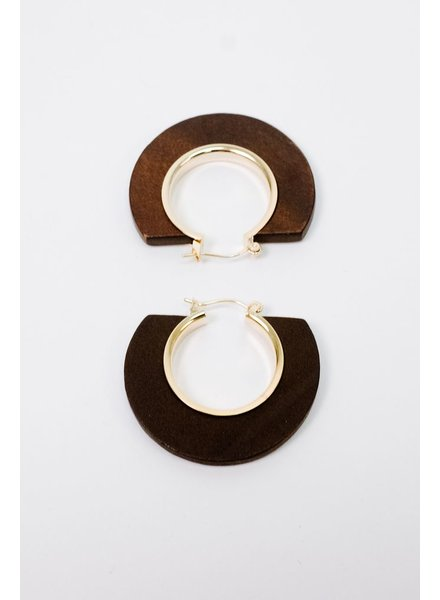 Trend Trend Half Circle Earrings