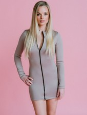 Short Full Zip Dress