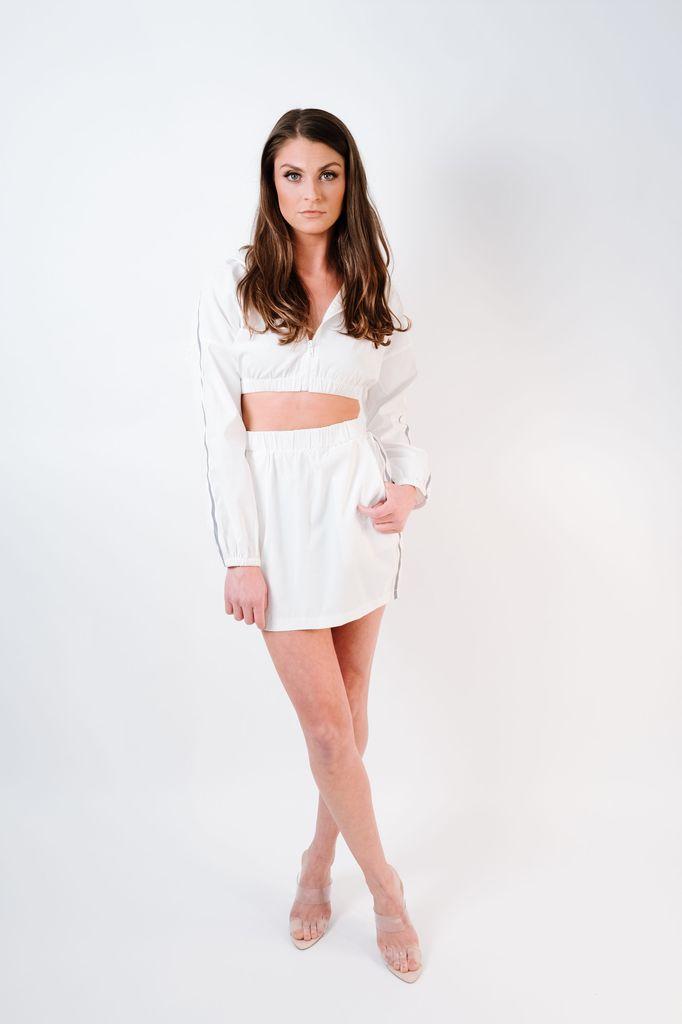 Skirt Reflective Windbreaker Skirt