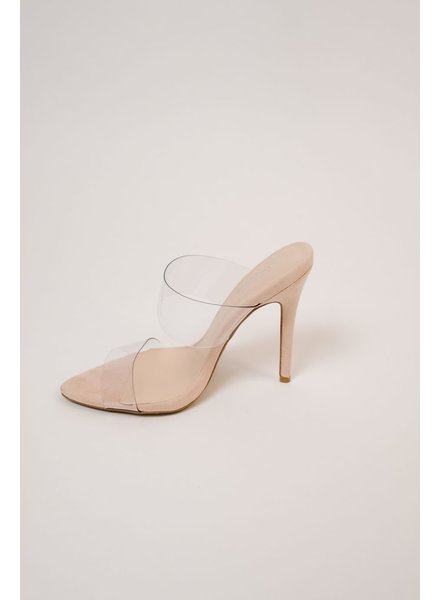 Pump Double Lucite Strap Pump