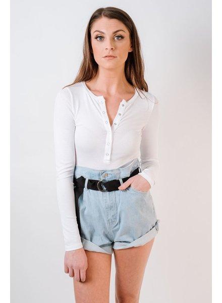 Bodysuit Snap Front Bodysuit