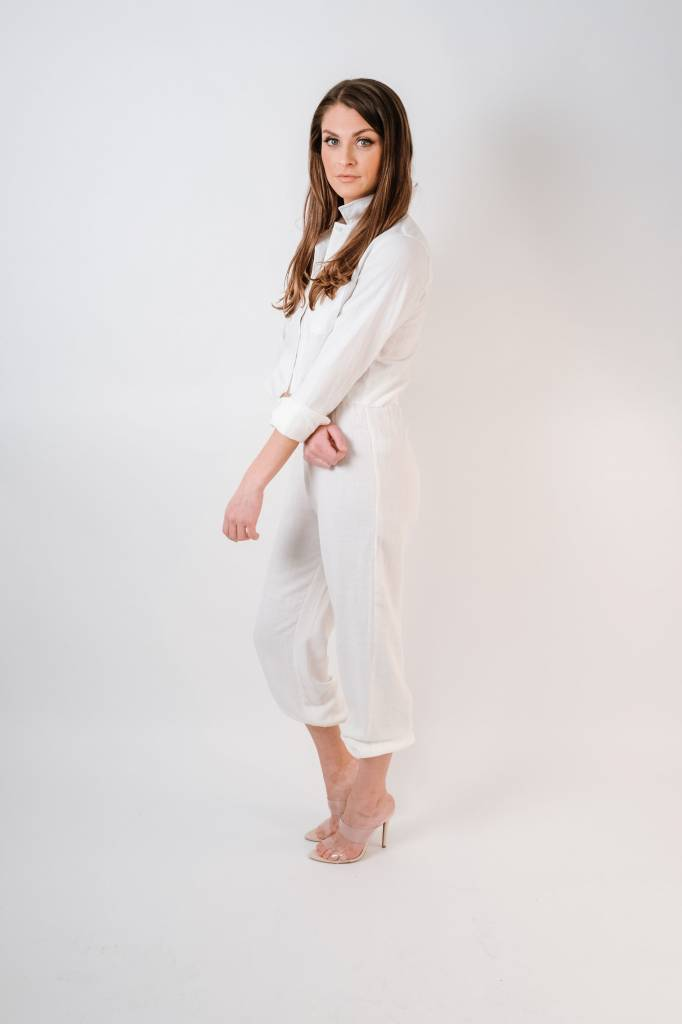 Pants Linen Jogger