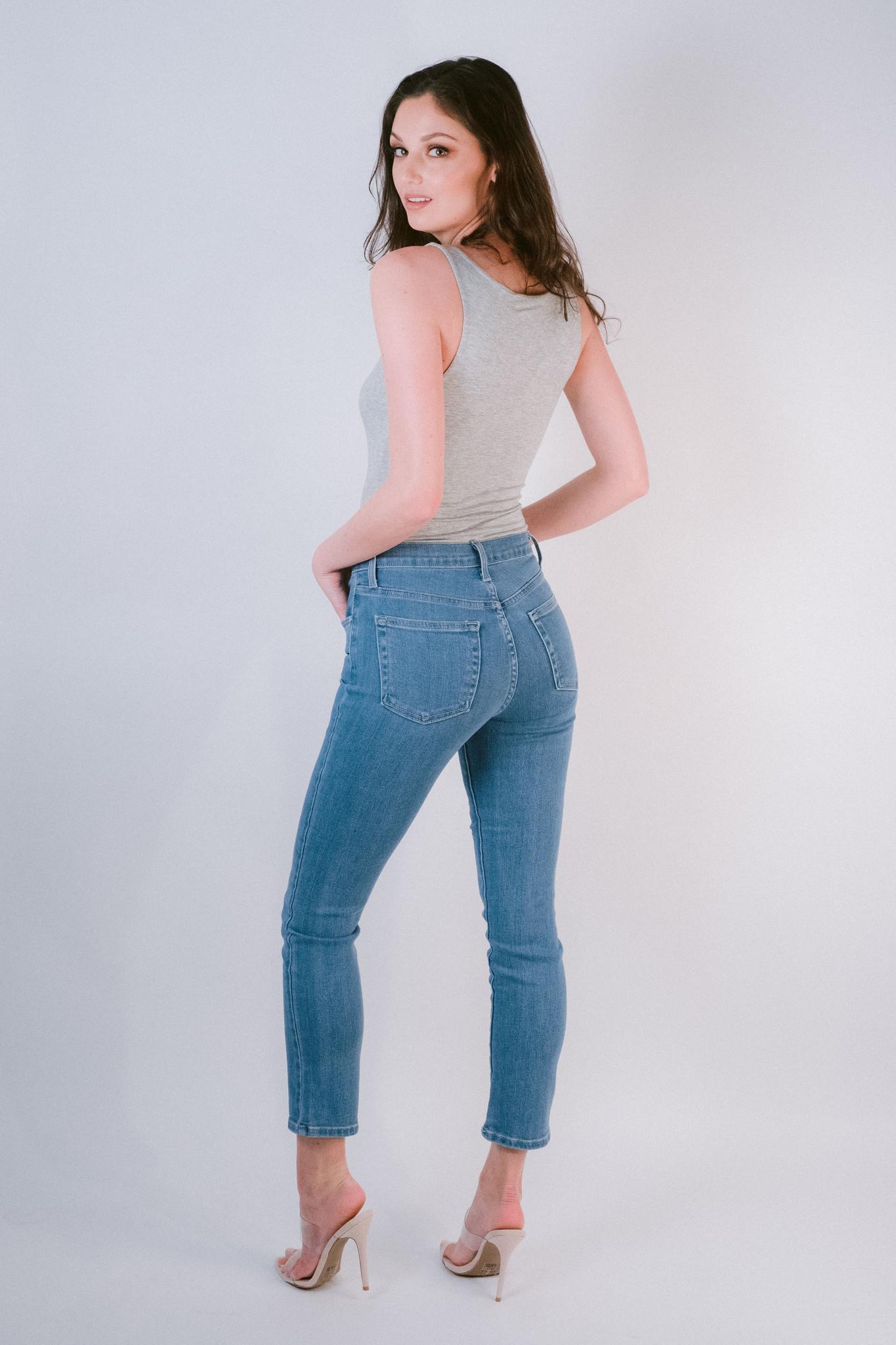 Jeans High Rise Cigarette Jeans