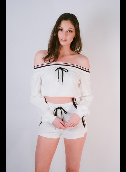 Sweatshirt OTS Athletic Striped Top