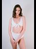 Bikini White Seamless High Waist Bottom