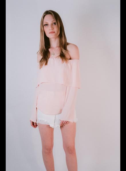 Blouse OTS overlay blouse