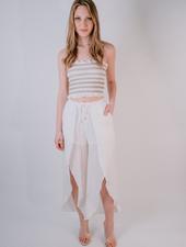 Pants White Tulip Pants