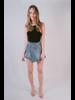 Skirt Wrap Denim Skirt