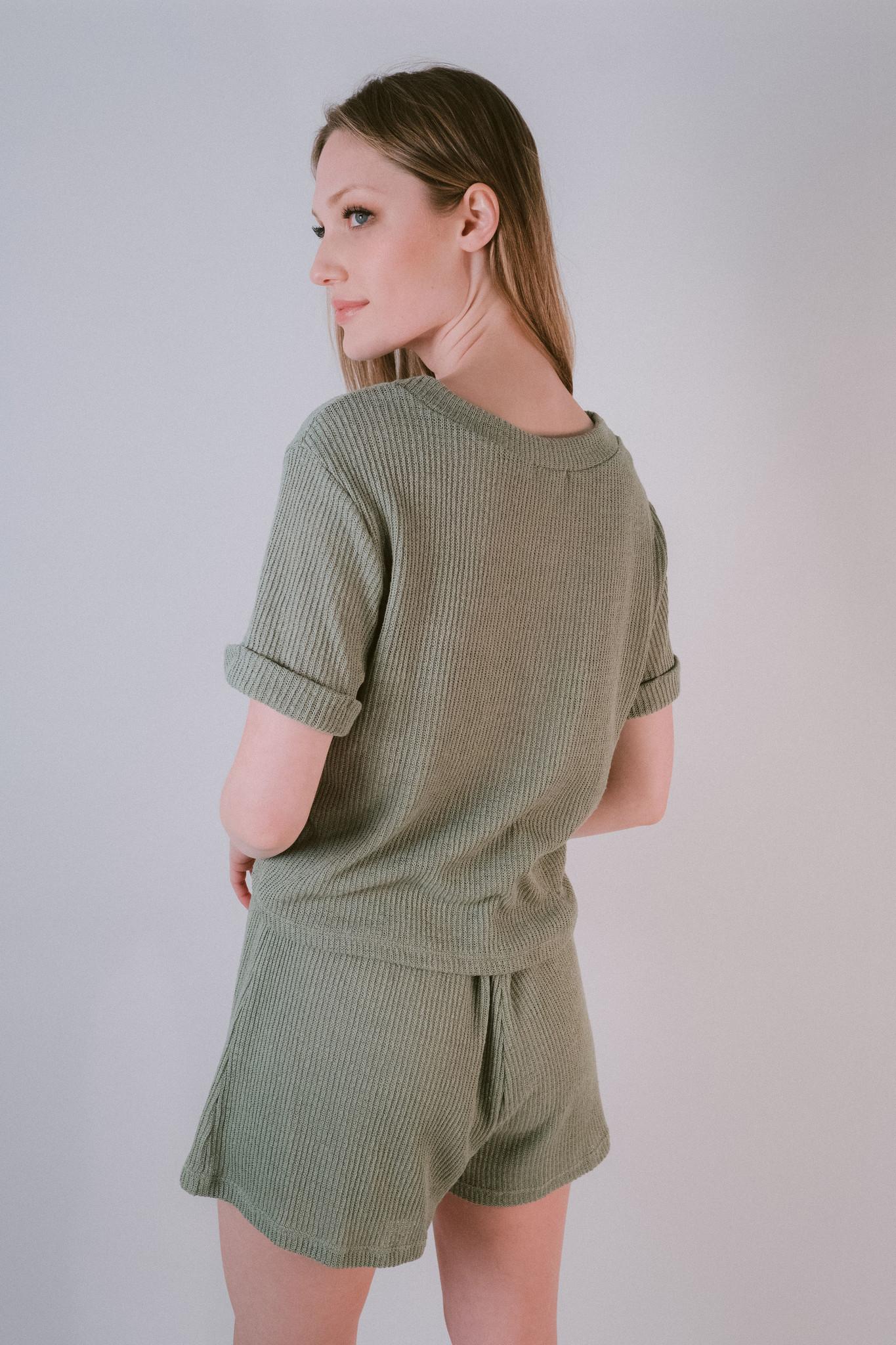 Shorts Moss Knit Shorts