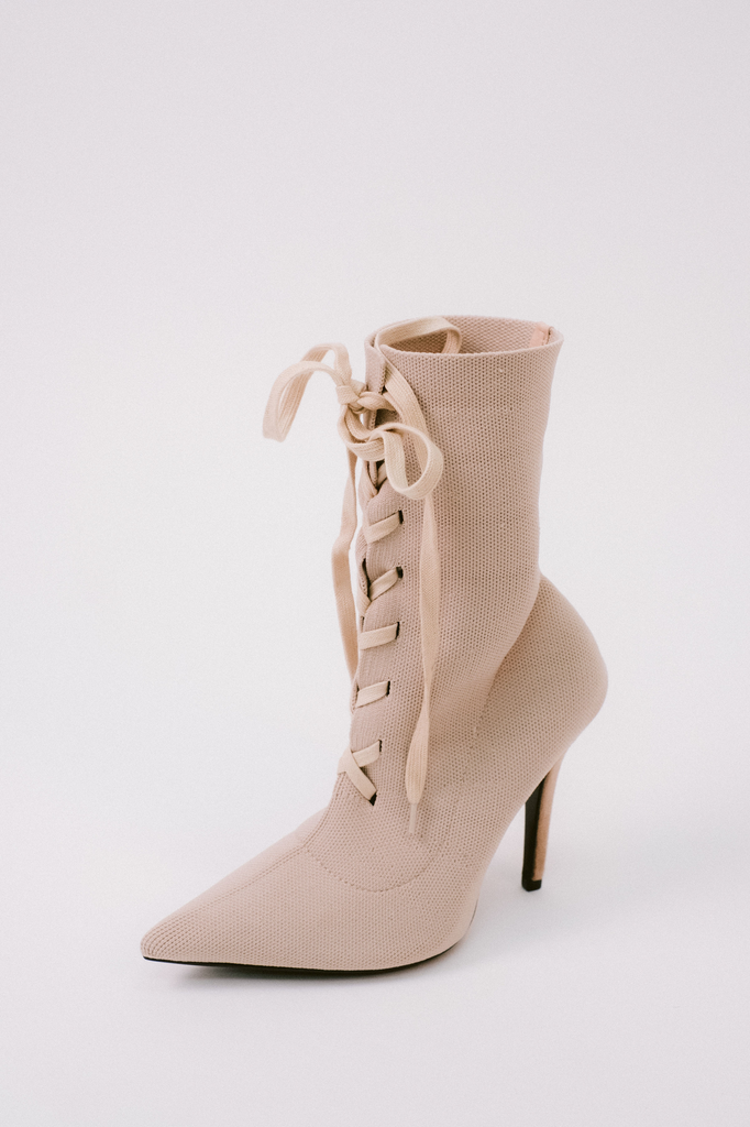 Boot Spring Lace-Up Boot