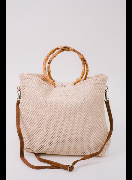 Handbag Bamboo Hoop Handbag