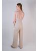 Casual Ribbed Jersey Jumpsuit