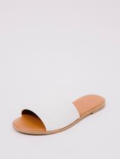 Sandal White Slide