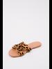 Sandal Leopard Cut-Out Slide
