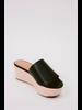 Sandal Black Platform Slide