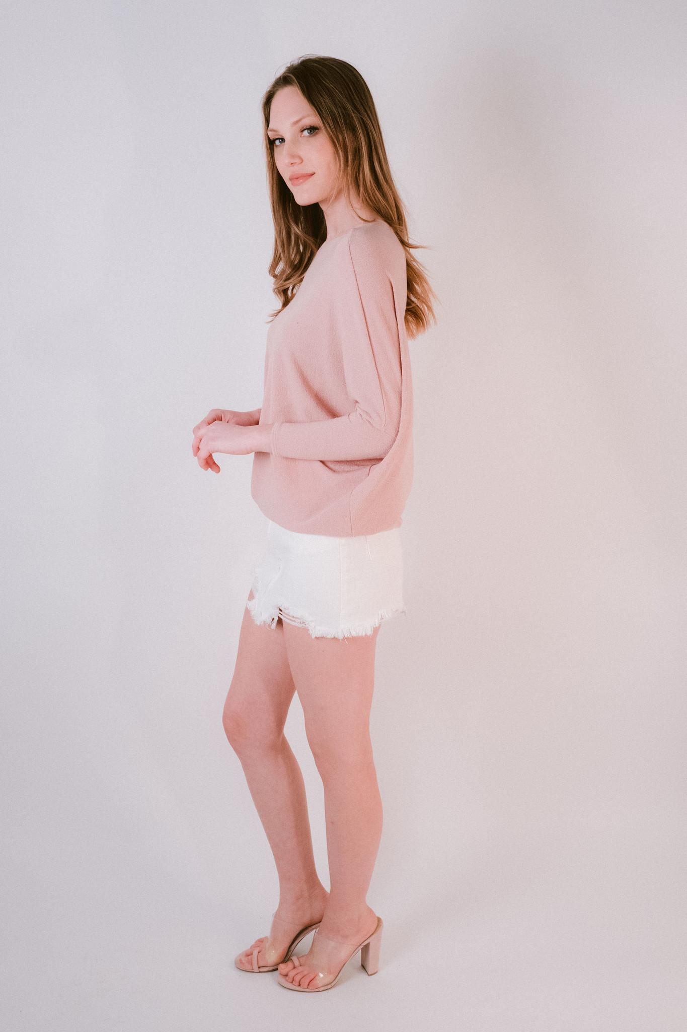 Knit Rose Dolman Knit