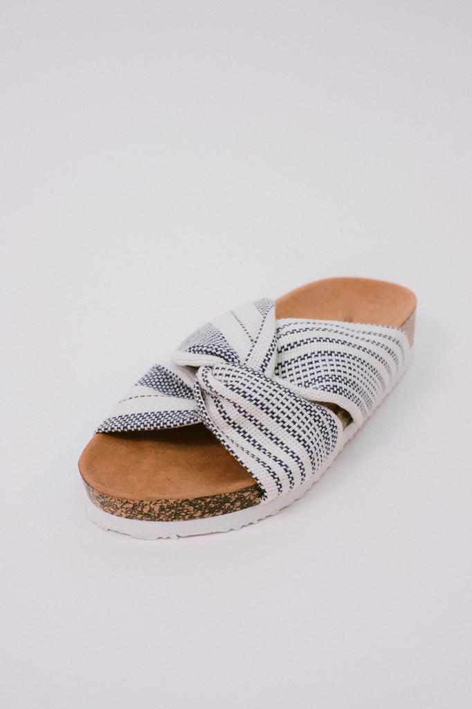 Sandal Knotted Fabric Sandals