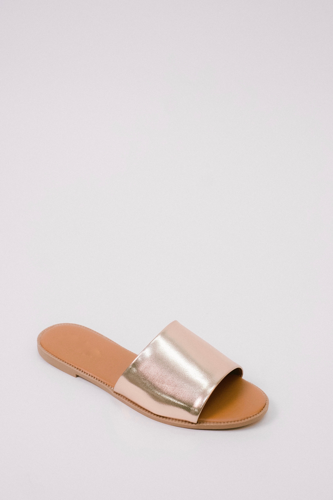 Sandal Rose Gold Slide