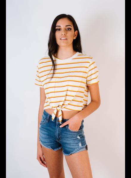 T-shirt Summer Striped Tee