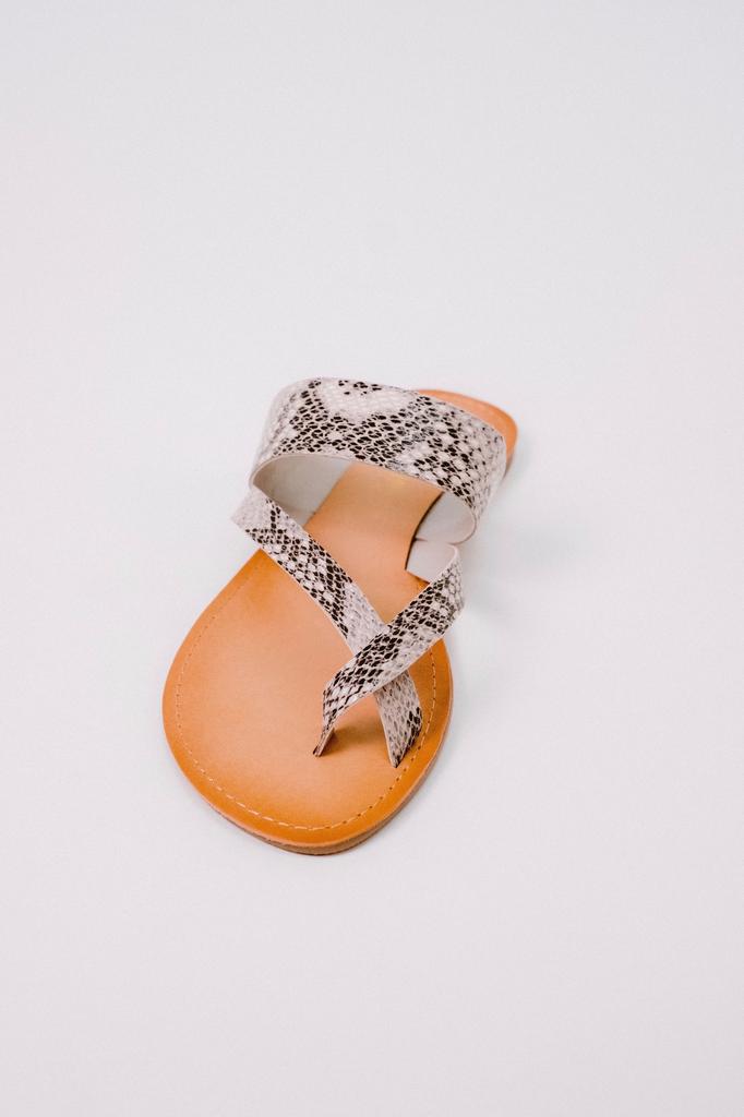 Sandal Toe Wrap Snake Sandal