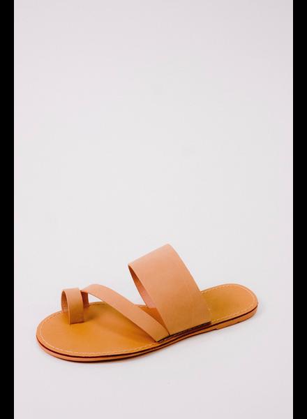 Sandal Nude Toe Wrap Sandal