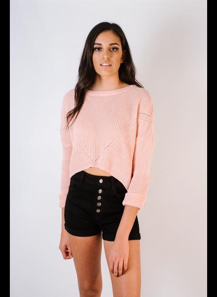 Knit Peach Lightweight Knit