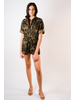 Casual Camoflage Romper