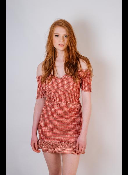 Skirt Gingham Mini Skirt