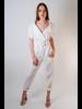 Jumpsuit Belted Linen Jumpsuit