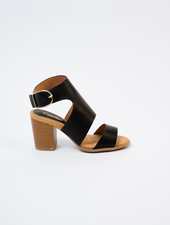 Sandal Caged Cut-Out Shoe