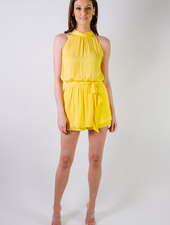 Mini Sunshine Halter Romper