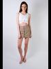 Skirt Olive Linen Skort