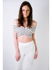 Tube White Smocked Tube Top