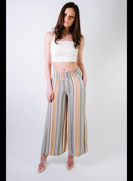 Pants Sage Striped Pants