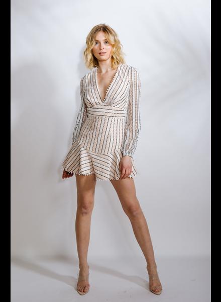 Mini Modern Lace Dress