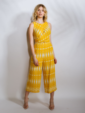 Casual Sunshine Wrap Jumpsuit