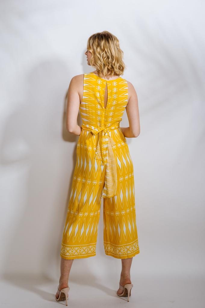 Casual Sunshine Wrap Jumpsuit