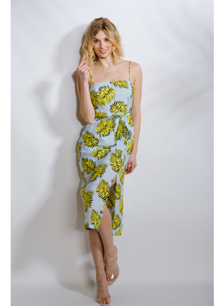 Midi Yellow Palm Midi