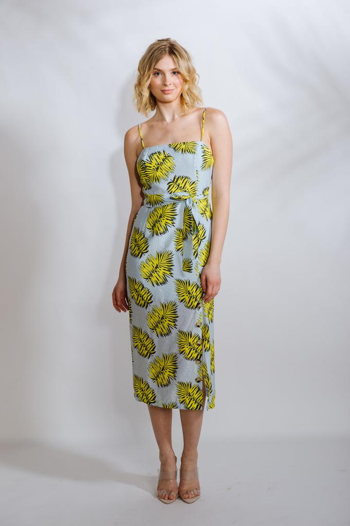Midi Yellow Palm Midi