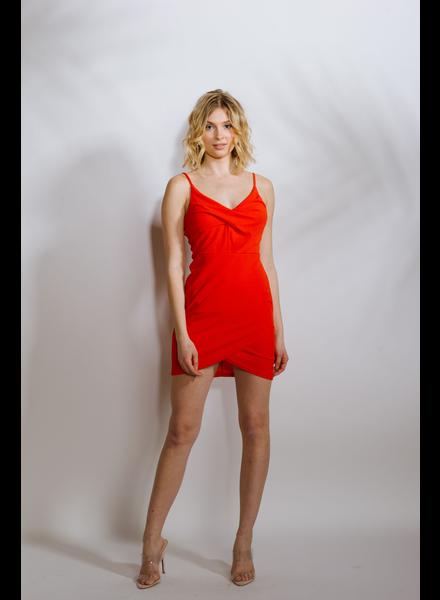 Mini Tulip Hem Dress