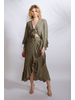 Skirt Sage Wrap Maxi Skirt