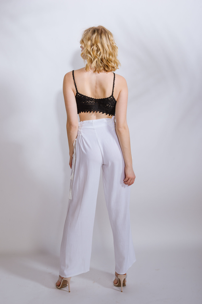 Pants Lace Up Side Pant