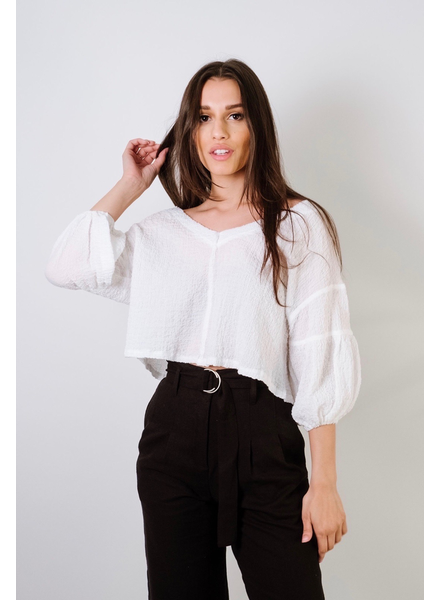 Blouse Crinkled Cloud Blouse