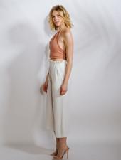 Pants Linen Crop Pant